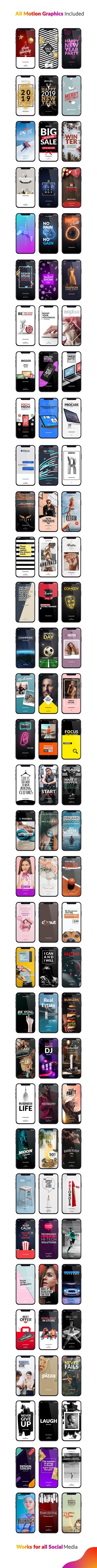 Instagram Stories Package Essential Graphics | Mogrt - 10