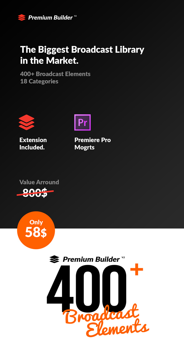 PremiumBuilder Broadcast Packages for Premiere Pro - 7