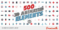 Flat Animated Icons Library - 33