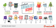 Flat Animated Icons Library - 38