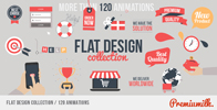 Flat Animated Icons Library - 53