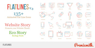 Flat Animated Icons Library - 49